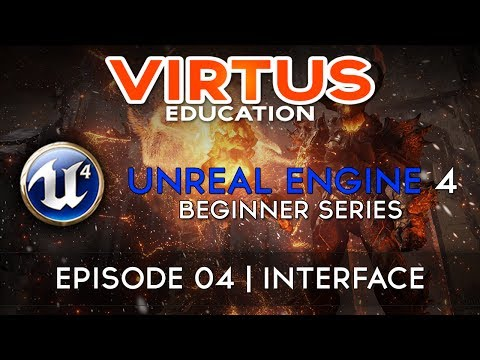 User Interface Overview - #4 Unreal Engine 4 Beginner Tutorial Series
