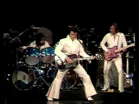 ELVIS PRESLEY - See See Rider - (Live concert in Hawaii, 1973) with lyrics.
