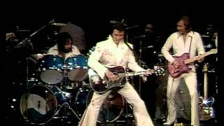 ELVIS PRESLEY - See See Rider - (Live concert in Hawaii, 1973) with lyrics.