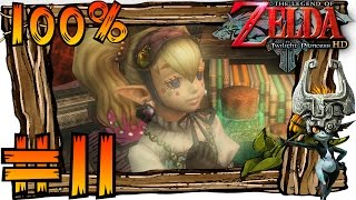 Zelda Twilight Princess HD Wii U 100% Walkthrough Part 11 | Lake Hylia (1080p 60fps Gameplay)