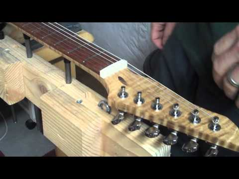How To Make A Nut For A Guitar