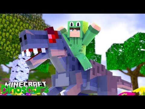 THE ALLOSAURUS IS BORN! - Minecraft Dinosaurs w/ Little Lizard