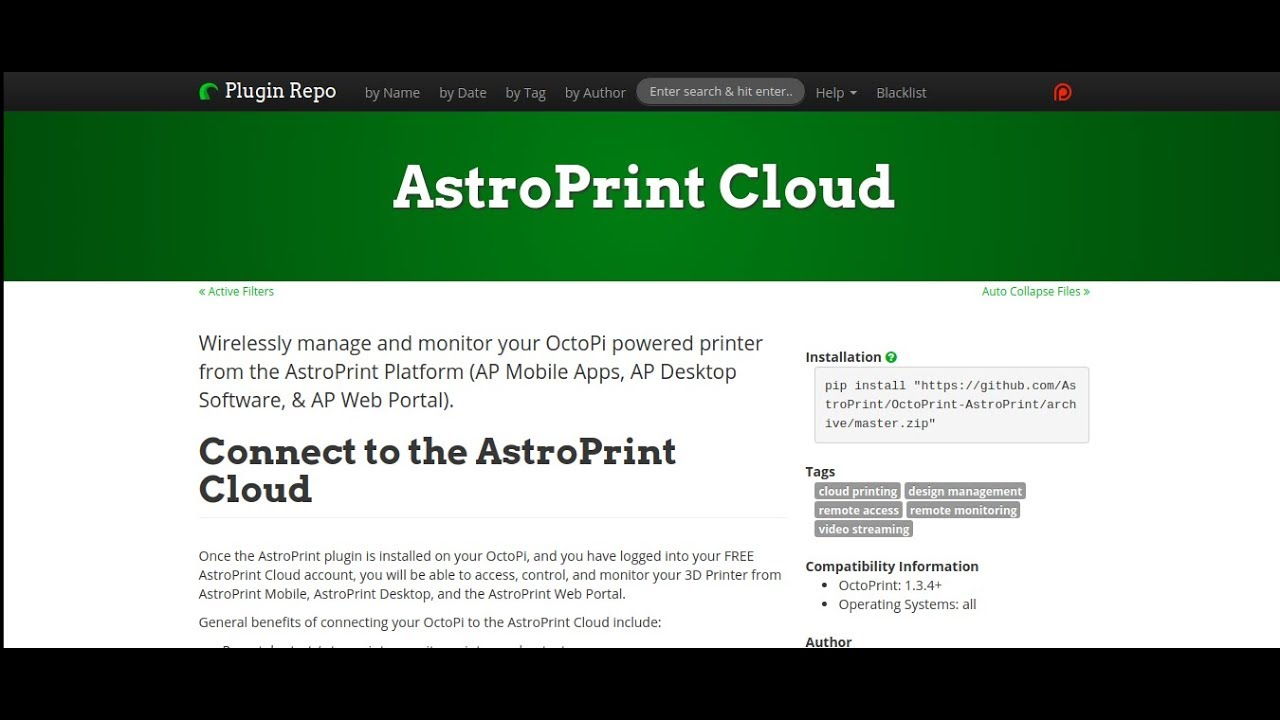 How to access OctoPrint over The Internet with AstroPrint (from