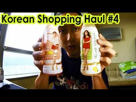 Korean Shopping Haul - Daiso & CU by Family Mart