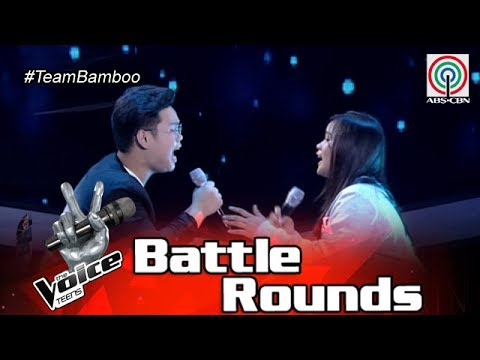 The Voice Teens Philippines Battle Round: Jem vs. Jouie Anne - Pag-ibig/Masaya