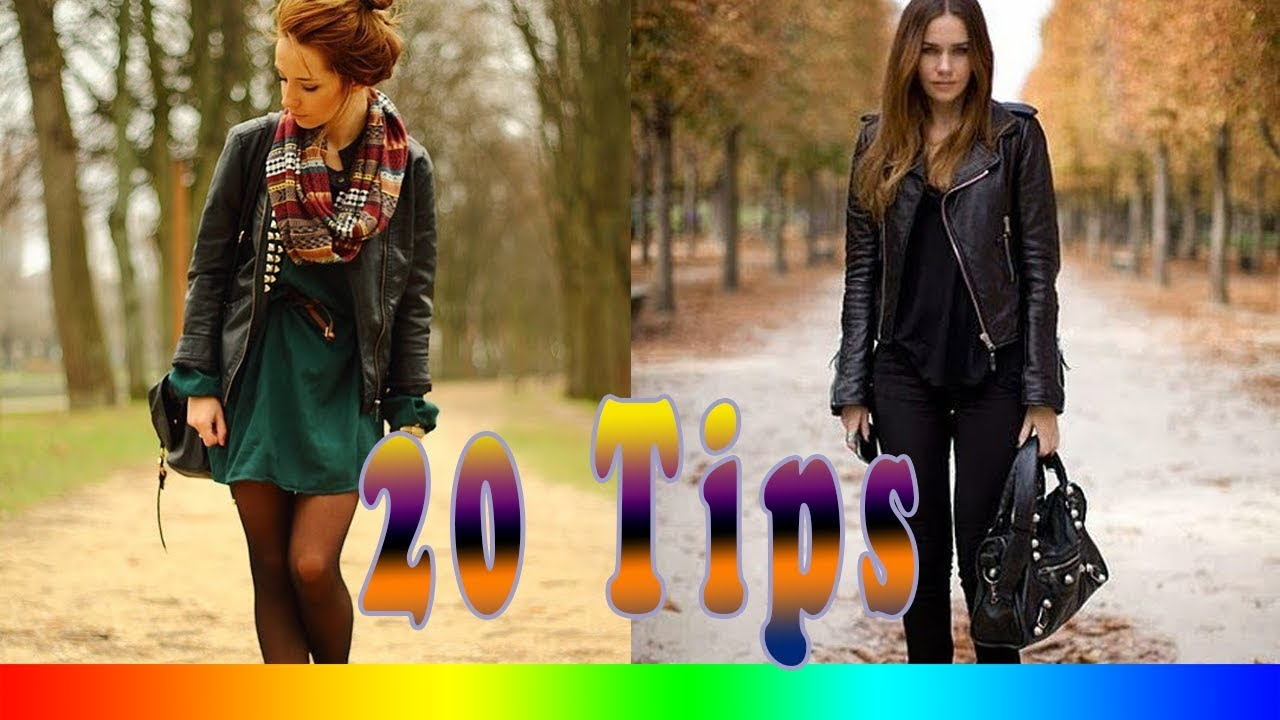 c4e2371ca68 20 Style Tips On How To Wear A Leather Jacket - YouTube