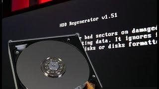 """""""Naprawiamy"""" bad sectory  HDD Regenerator i MHDD"""