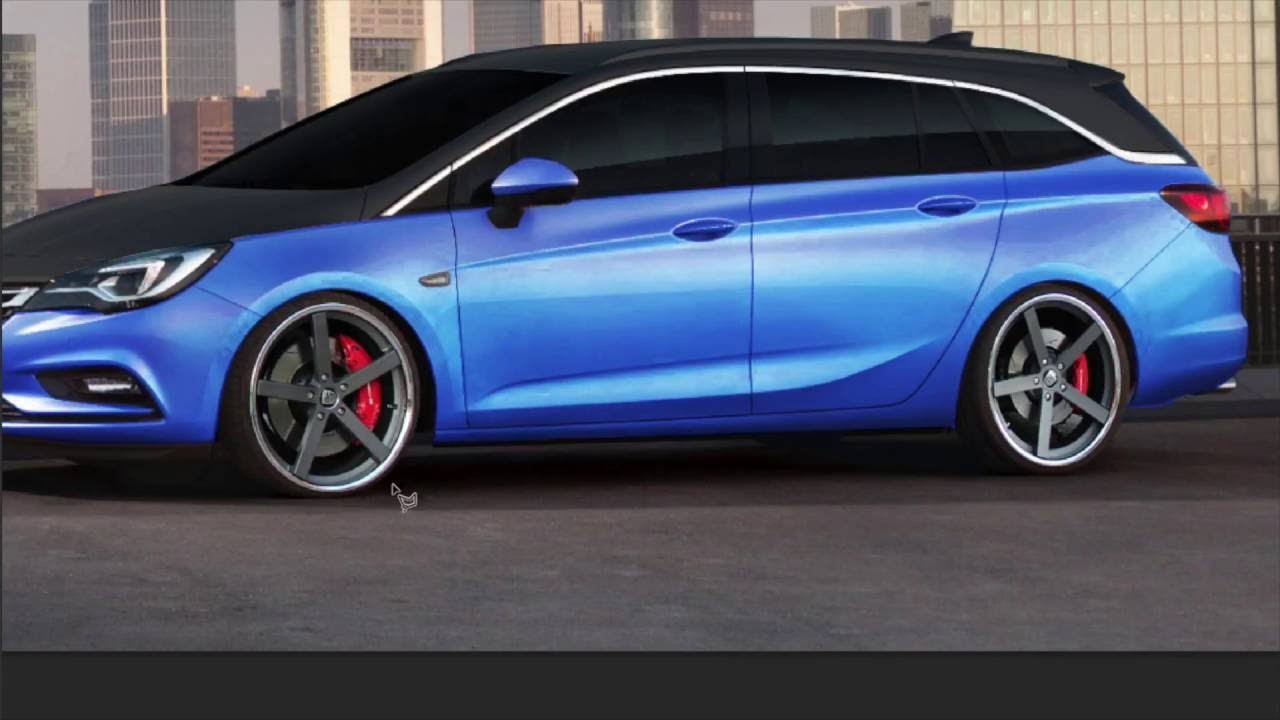 Opel Astra K Project by Renderings Inc. - YouTube