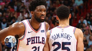 Jalen Rose: Ben Simmons and Joel Embiid don't complement each other | Jalen & Jacoby