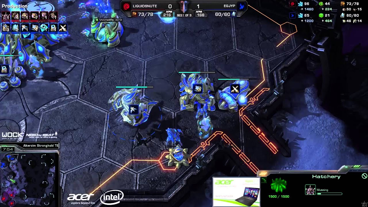 JYP vs. Snute (ATC) - EG vs. TL - Game 2 - StarCraft 2