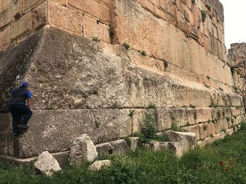 Ancient Baalbek Complex In Lebanon: Clear Evidence Of Lost High Technology Present