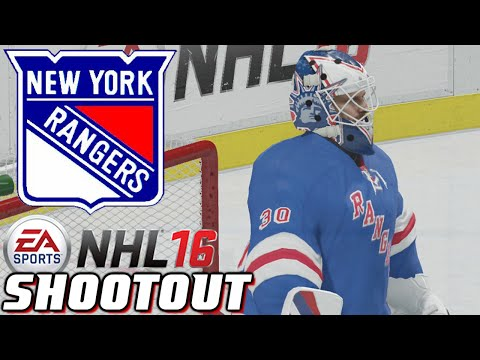 The Falling New York Rangers - NHL 16 - Shootout Commentary ep. 42
