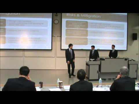 1st Place  |  Finance Case  |  U of S - Edwards School of Business  |  JDC West 2012