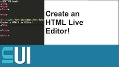 How to Create an HTML Live Editor like jsfiddle, jsbin, codepen using ace editor