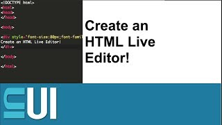 How to Create an HTML/Javascript/CSS Live Editor