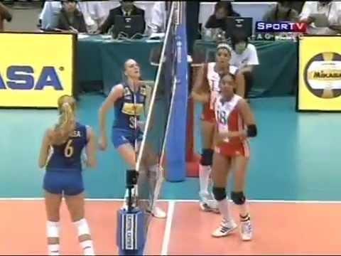 Grand Prix 2008 -  Brasil x Cuba - Fase Final