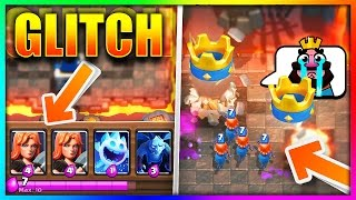 "NEW ""VALKYRIE GLITCH"" Is EXTREMELY OVERPOWERED In Clash Royale!!"