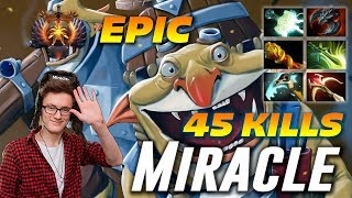 Miracle Techies 45 Frags | EPIC 2 Hours Game | Dota 2 Pro Gameplay [Watch \u0026 Learn]