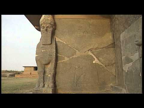 Archaelogical site of Nimrud before destruction