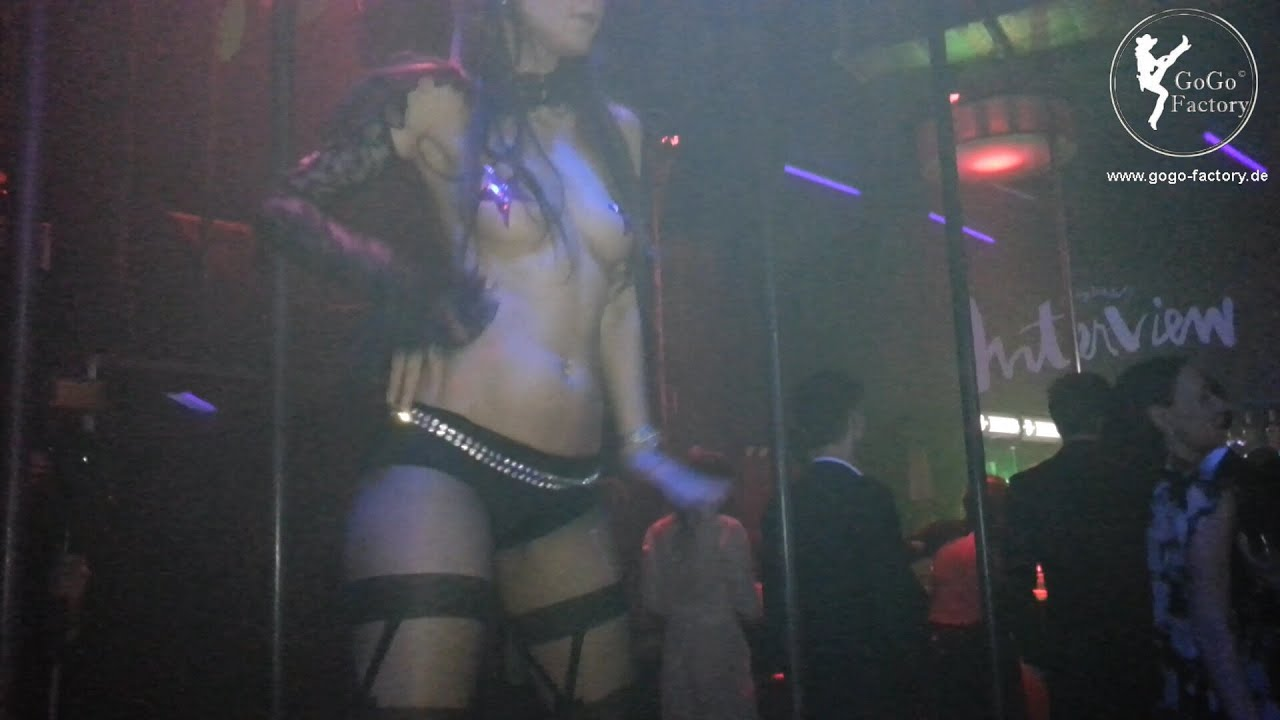 topless go go dancer
