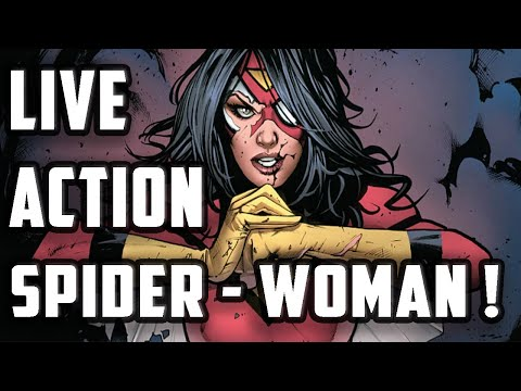 Live Action SPIDER-WOMAN Film From Sony And Marvel ... Starring ALICIA VIKANDER ? Director Revealed