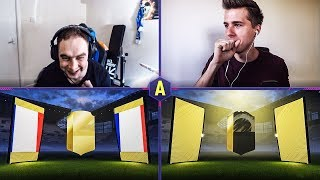 WALKOUT! GRUBY PACK AND PLAY! ADRYAN VS XENQ | FIFA 18 ULTIMATE TEAM
