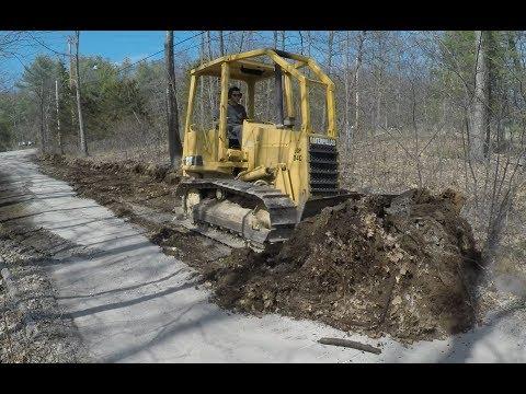 Fixing a gravel road