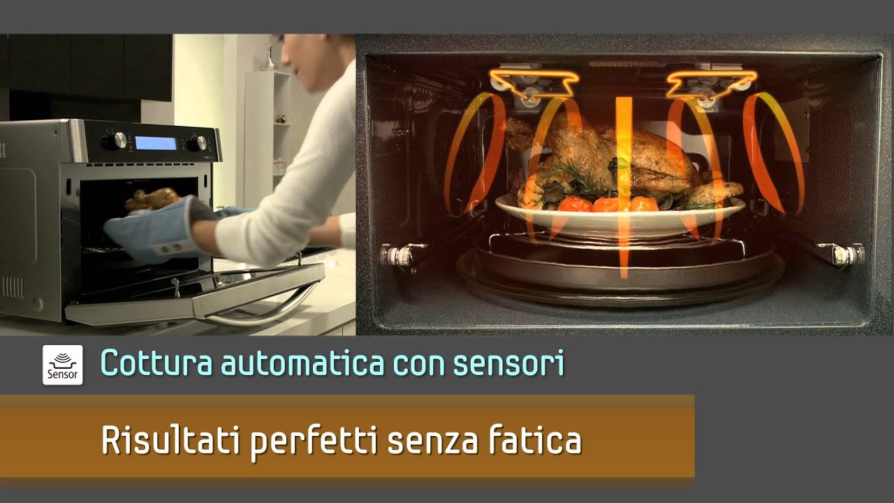 Samsung perfetto forno microonde combinato youtube - Forno combinato microonde ...