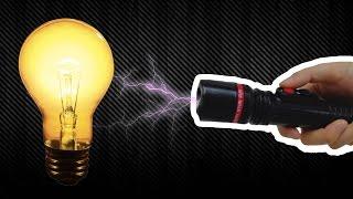 500,000 Voltluk Elektroşok Cihazı Ampul Yakabilir Mi? - Test Ettik