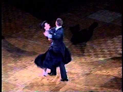 045 社交ダンス タンゴ デモ (Ballroom Dance Tango Demonstration)ジョンウッド&アンルイス組