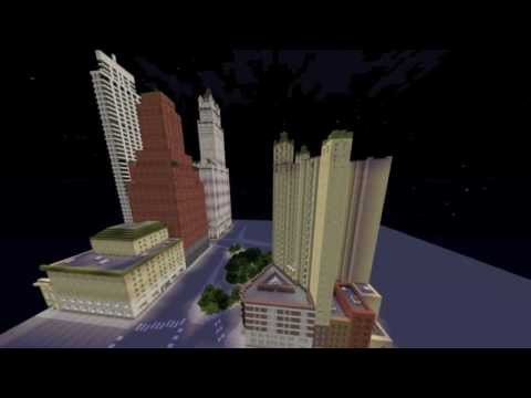 New York in Minecraft- Park Row Building