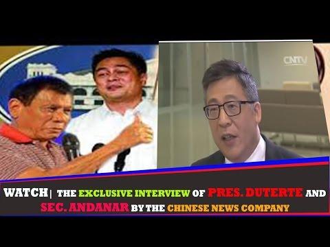 WATCH: Exclusive Interview ng CHINESE NEWS AGENCY kay Pres. Duterte at Sec. Andanar sa CHINA!! (NEW)