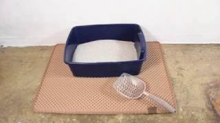 Blackhole Cat Litter Mat - Easy Clean, Effective, Duarable
