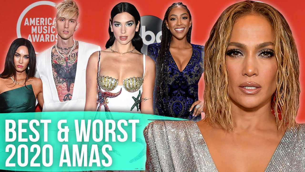 Best & Worst Dressed - American Music Awards 2020 (Dirty Laundry)