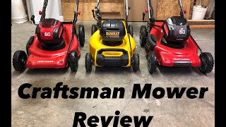 What you need 2 know | Craftsman V60 Mower self-propelled Review | CMCMW270