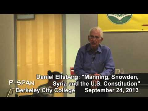 P-SPAN #328: Daniel Ellsberg at Berkeley City College - Part 2