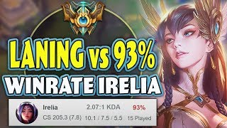 TALON VS 93% WINRATE IRELIA | Talon vs. Irelia Challenger Matchup