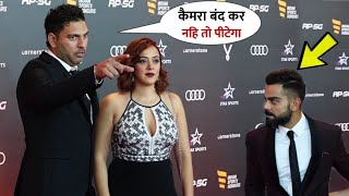 Yuvraj Singh With H0T Wife Hazel Keech Grand Entry With Virat at ISH 2019 | Amazon Collection Launch