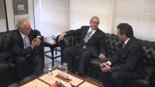 Senador José Sarney recebe o prefe