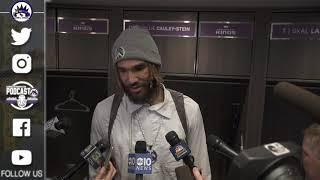 Willie Cauley-Stein Post Game Interview - Kings vs Raptors   2018-19 NBA Season