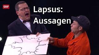 Lapsus: Aussagen