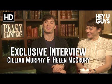 Cillian Muprhy & Helen McCrory Interview - Peaky Blinders Season 2 (HD)