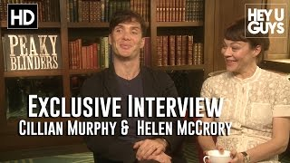 Cillian Muprhy & Helen McCrory Interview - Peaky Blinders Season 2 (HD)