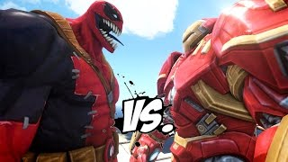 HULKBUSTER VS VENOMPOOL - EPIC BATTLE