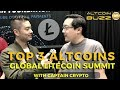 Top 3 Altcoins at The Global Litecoin Summit with Captain Crypto