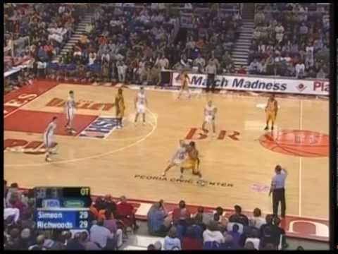 2006 IHSA Boys Basketball Class AA Championship Game: Chicago (Simeon) vs. Peoria (Richwoods)