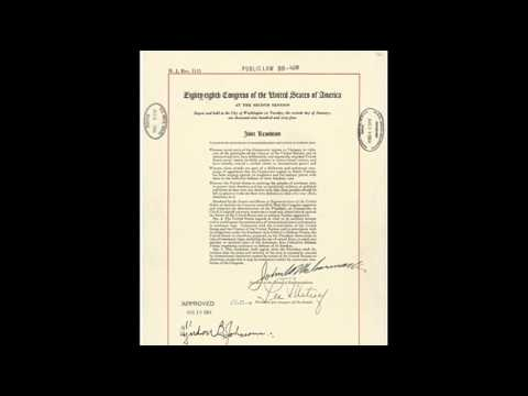 7th August 1964: Gulf of Tonkin Resolution passed by US Congress