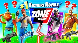 Skin ALÉATOIRE Zone Wars CHALLENGE ! Défi FORTNITE Battle Royale