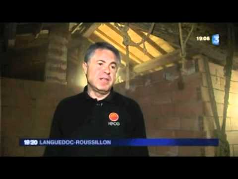 Reportage France 3 Scop IECO - ouverture Showroom Montpellier (Mauguio) - 29 mars 2012