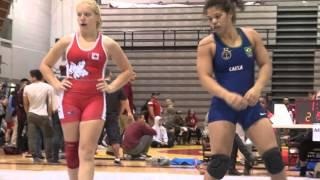 2015 McMaster FW67kg Shauna Kubek (Impact) vs Daliane Gomes (Brasil)